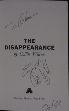 The Disappearance (Inscribed)