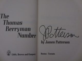 The Thomas Berryman Number (Signed)