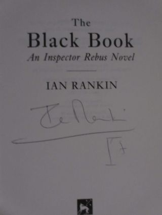 The Black Book (Signed and with drawing)