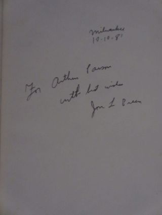 What About Murder? (Inscribed)