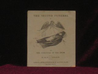 THE SECOND FUNERAL OF NAPOLEON: In Three Letters to Miss Smith, of London and the Chronicle of...