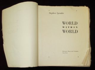 WORLD WITHIN WORLD (Page Proofs)