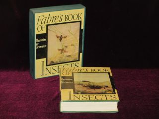 FABRE'S BOOK OF INSECTS (In Original box). E. J. Detmold, Rodolph Stawell, Mrs.