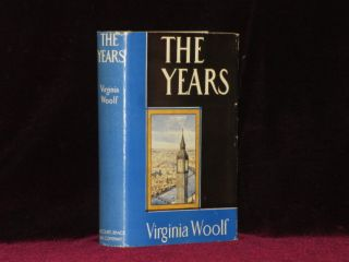 THE YEARS. Virginia Woolf