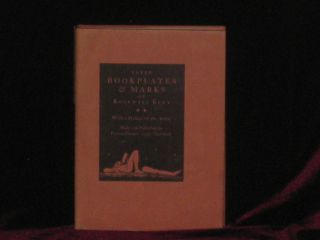 Later Bookplates & Marks of Rockwell Kent [Signed Association Copy]. Rockwell Kent, SIGNED