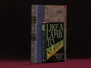 LIKE A LAMB TO SLAUGHTER (Inscribed), with the Corrected Typescript of 10 of the Stories and with the Master Set of 1st Pass Proofs, Unbound