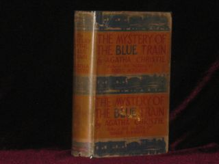 THE MYSTERY OF THE BLUE TRAIN. Agatha Christie.