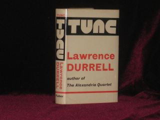 Tunc. Lawrence Durrell, SIGNED