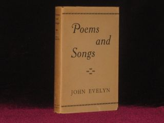 POEMS AND SONGS. John Evelyn