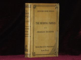THE MUDFOG PAPERS. Charles Dickens