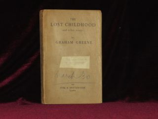 THE LOST CHILDHOOD and Other Stories. Graham Greene.