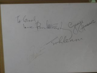 THE BEATLES (Signed photograph)