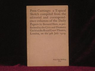 PRESS CUTTINGS: a Topical Sketch Compiled from the Editorial and Correspondence Columns of the...