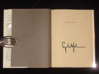 A FAMILY ALBUM (Signed By LBJ). Rebekah Baines Johnson, President L. B. Johnson