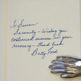 BETTY a Glad Awakening. Betty Ford, SIGNED