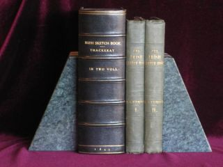 THE IRISH SKETCH BOOK. Two Volumes. M. A. Titmarsh, W. M. Thackeray