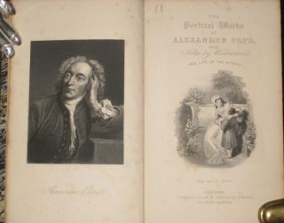 The Works of Alexander Pope, in One Volume Complete with Notes By Dr. Warburton (with Gauffered edges)
