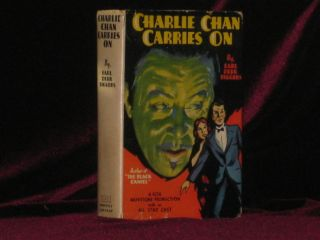 CHARLIE CHAN CARRIES ON. Earl Derr Biggers.