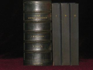 The Little Minister. Three Volumes