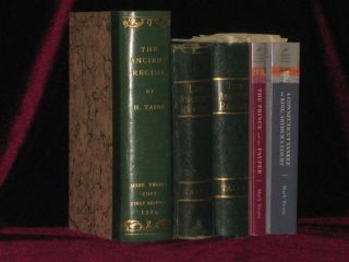 Mark Twain's Copy. The Ancient Regime; Source Book for 2 of Twain's Major Novels. Mark Twain,...