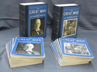 The Great War [In Original Fortnightly parts]. Sir Winston S. Churchill.