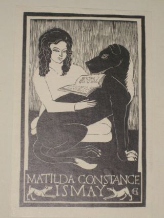 Proper Studies [With Bookplate of Matilda Constance Ismay]