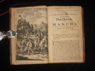 THE HISTORY OF THE MOST RENOWNED DON QUIXOTE OF MANCHA: And His Trust y Squire Sancho Pancha, Now Made English According to the Humour of Our Modern Language. And Adorned with Several Copper Plates