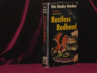 The Case of the Restless Redhead (Inscribed Association Copy). Erle Stanley Gardner, SIGNED