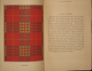 Sketches of the Clans of Scotland, with Colored Plates of Tartans. J. M. P.- F. W. S. Clansmen
