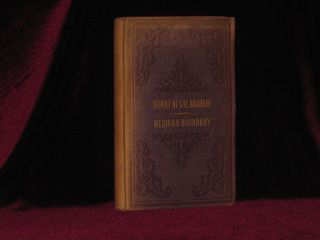 Report of the Secretary of War, Communicating, in Compliance with a Resolution of the Senate, the Report of Lieutenant Colonel Graham on the Subject of the Boundary Line Between the United States and Mexico. James D. Graham, Lt. Col.