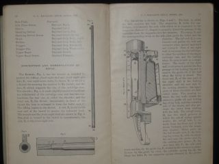 Descriptions and Rules for the Management of the U. S. Magazine Rifle, Model 1898, and Magazine Carbine, Model 1899. Caliber .30. U. S. War Department.