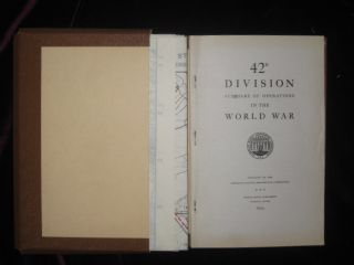 42D Division Summary of Operations in the World War. American Battle Monuments Commission.