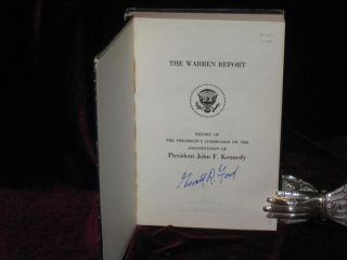 The Warren Report. Report of the President's Commission on the Assassination of President John F. Kennedy