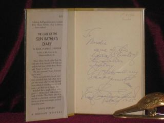 The Case of the Sun Bather's Diary (Inscribed Association copy)