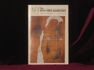 Cunts. In the New York Quarterly, Summer 1973, Number 15 - Signed Limited Edition. John Updike,...