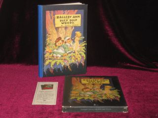 Raggedy Ann in the Deep Deep Woods (In Original Box). Johnny Gruelle