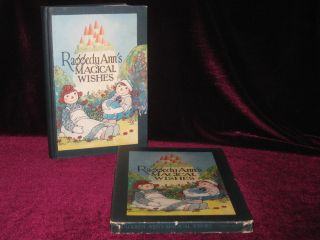 Raggedy Ann's Magical Wishes (In Original Box). Johnny Gruelle