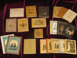 Almanacks for 1883-1895 and 1897, with Many Varieties, 21 Volumes; with Alphabet