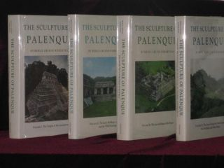 The Sculpture of Palenque (4 Volume set). Merle Greene Robertson