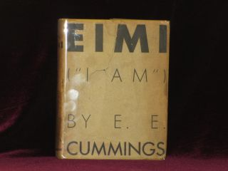 "EIMI (""I AM""). e. e. cummings, SIGNED"