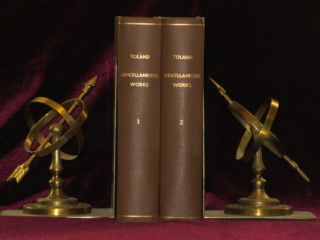 The Miscellaneous Works of Mr. John Toland. Two Volumes. John Toland, Des Maizeaux.