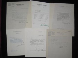 The Democratic Book 1936 (Signed and with Many Letters Signed By Cabinet Members, Laid in)