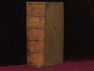 "The Bible, 1608 Geneva Bible, ""Breeches"" Bible with The New Testament of Our Lord Jesus Christ, 1610"