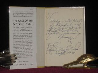 The Case of the Singing Skirt (Inscribed to His Secretary)