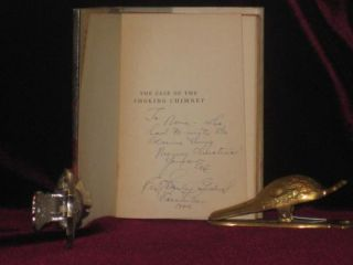 The Case of the Smoking Chimney; Inscribed to a Secretary
