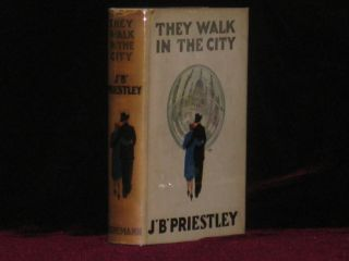 They Walk in the City (Signed). Priestley, ohn, oynton