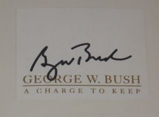 A Charge to Keep (Signed)