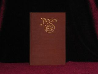 Jurgen. A Comedy of Justice (with Autograph Letter Signed). James Branch Cabell.